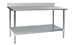 kitchen prep table industrial work tables kitchen stainless steel prep restaurant