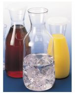 Cambro 1 Liter Beverage Decanter with Lid