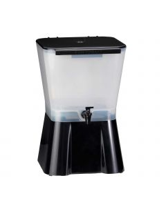 Tablecraft 3 Gallon Juice & Ice Tea Dispenser, Square