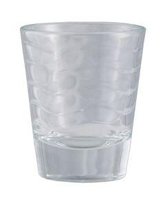 BarConic 1.5 oz Unique Frosted Shot Glass Wholesale (1 Dozen)