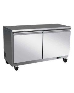 "Entree EUF47X Two Door Dual Section Undercounter Freezer | 48"""