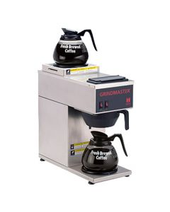 Grindmaster-Cecilware Portable Pourover Single Coffee Brewer, Two Warmers