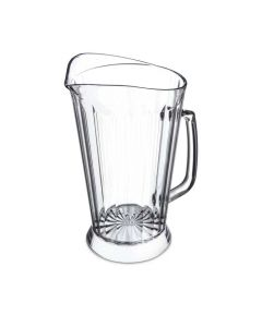 Carlisle 48 Oz Clear Beverage Pitcher for Restaurants