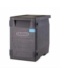Cambro GoBox Food Pan Carrier | Black | 90.9 Qt | EPP400110