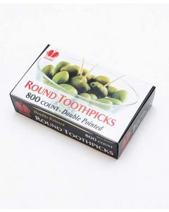 Round Toothpicks | 800/Case