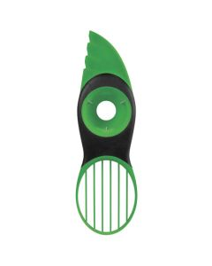 Green Avocado Slicer, 3-in-1