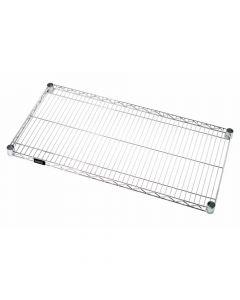 """Chrome Wire Shelf, 24"""" X 48"""""""