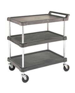 3 Shelf Industrial Utility Cart