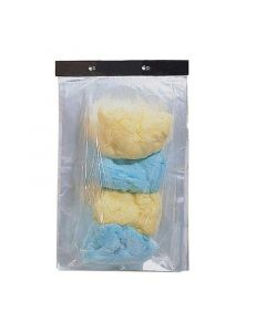 Cotton Candy Clear Bags | 1000/CS
