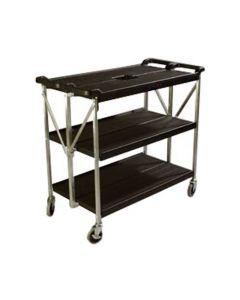 Black Carlisle Cart, Fold N' Go | 20x31