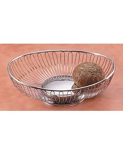 Tablecraft Oval Chrome Basket