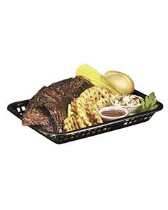 Tablecraft Rectangular Basket, Brown, 1 Dozen