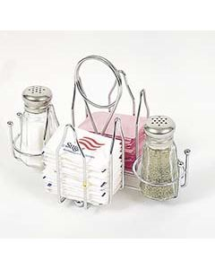 Browne Tabletop Organizer Caddy for Sugar Packets, Salt & Pepper