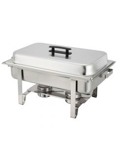 8 Qt Stainless Buffet Chafer, Stackable