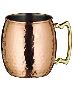 20 Oz. Moscow Mule Mug | Copper Plated Stainless Steel