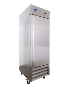 Entree CF1-SI Single Solid Door One Section Reach-In Upright Freezer