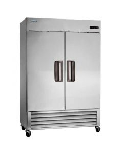 "Commercial Solid 2 Door Reach-In Refrigerator 55"" 49 Cu.Ft. - Volition"