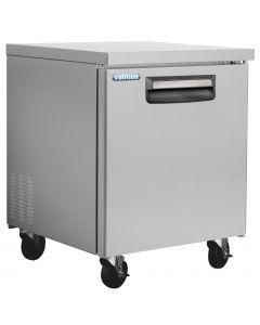 Single Solid Door Undercounter Refrigerator 27 Inch 7Cu.Ft. - VUR27