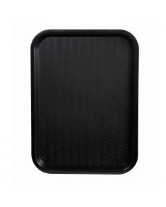 Fast Food Serving Tray, Black