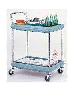 Intermetro Cart, Microban Plastic, 2 Shelf