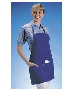 Front Of The House Bib Apron, Hunter Green