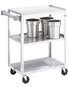 Vollrath 3 Shelf Stainless Steel Kitchen Utility Cart