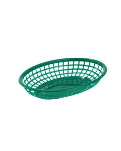 "Oval Serving Basket, 9-1/2"" x 5"" x 2"" 