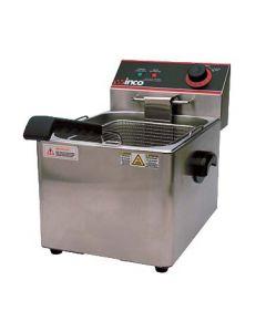 Winco EFS-16 Electric Countertop Fryer, Single Well, 16 lb Capacity