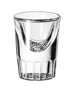 Libbey 1 oz Fluted Tall Liquor Shot Glasses Bulk (1 Dozen)