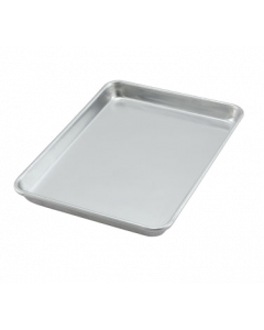 "Sheet pan, 1/4 size, 9-1/2"" x 13"", 3003 aluminum"