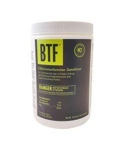 BTF Chloromelamine Sanitizer Powder - Bar Glass Cleaner