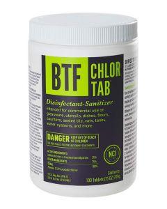 BTF Chlor-Tab Bar Glassware Sanitizer (100 Tablets)