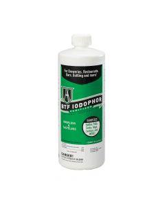 BTF Iodophor Sanitizer for Brewing Equipment (32 Oz)