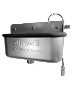 """Dipwell 10"""" Ice Cream Dipper Well Sink"""