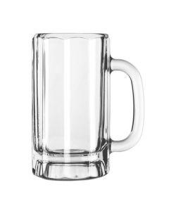 Libbey 16 Oz Paneled Glass Beer Mugs in Bulk